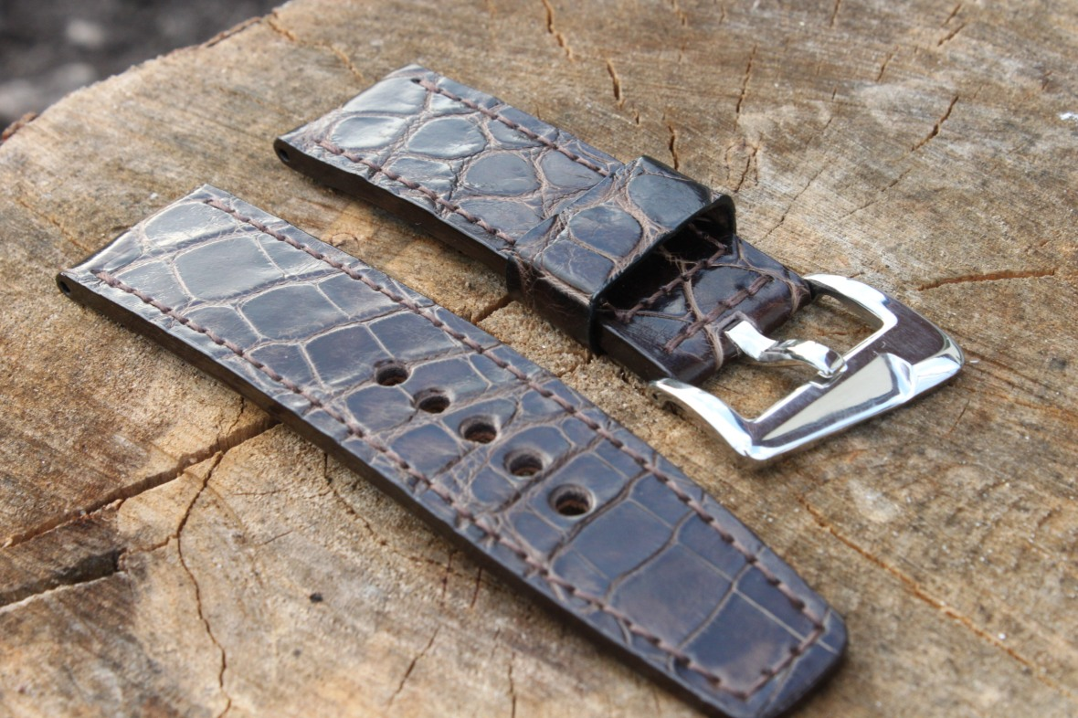 26/26mm leather strap